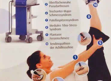 Stoßwellentherapie bei Sehnenproblemen